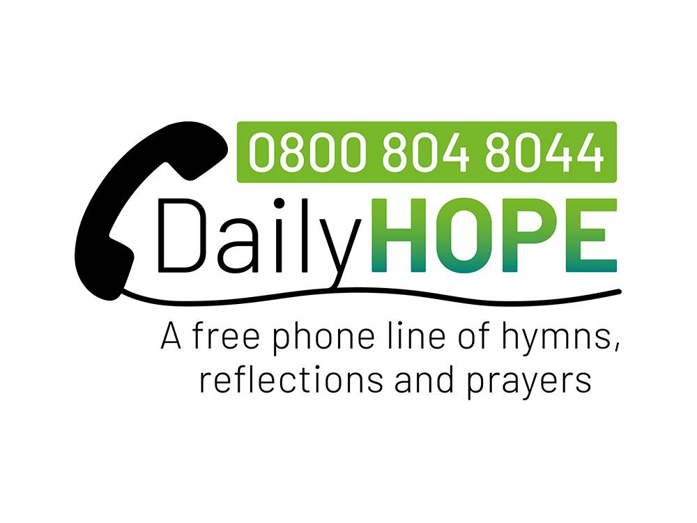 Daily Hope line Church of England